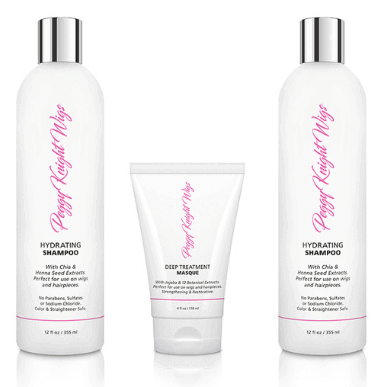 Peggy Knight Wigs Line of Hair Care products